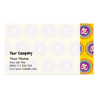 Seven Chakras pattern Pack Of Standard Business Cards