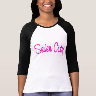 Seven City Signature -  Bright Pink Tshirt