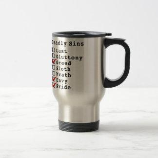 Seven Deadly Sins Checklist (0010011) Coffee Mug
