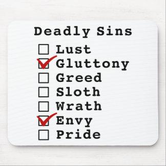 Seven Deadly Sins Checklist 0100010 Mousepads