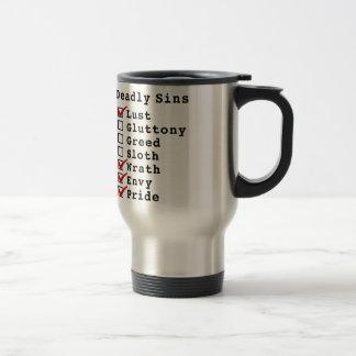 Seven Deadly Sins Checklist (1000111) Mug