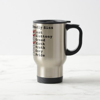 Seven Deadly Sins Checklist (1101000) Coffee Mug