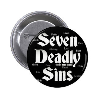 Seven Deadly Sins Logo 6 Cm Round Badge