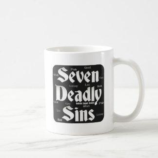Seven Deadly Sins Logo Classic White Coffee Mug