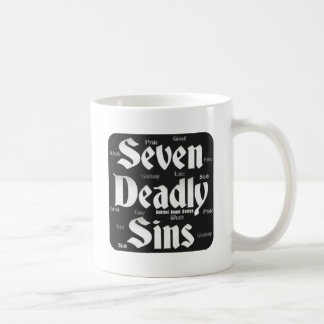 Seven Deadly Sins Logo Coffee Mug