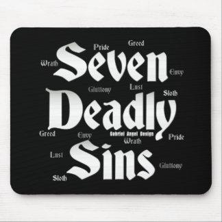 Seven Deadly Sins Logo Mouse Mat