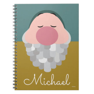 Seven Dwarfs - Sleepy Body - Personalized Notebook