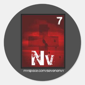 Seven Envy Element Sticker (Large)