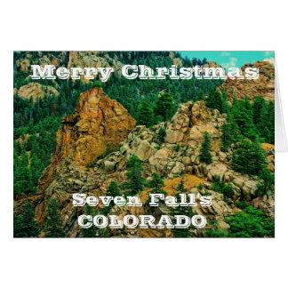 Seven Fall's Colorado Christmas Greeting Card