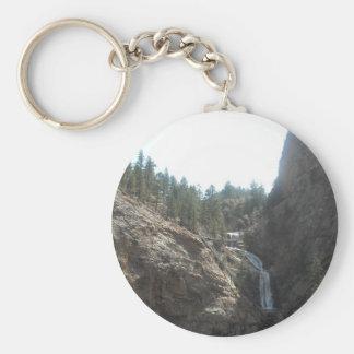 seven falls key ring