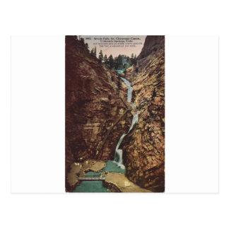 Seven Falls, South Cheyenne Cannon Postcard