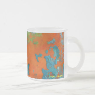 Seven Flavors of Crazy Frosted Glass Coffee Mug