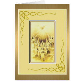 Seven Gifts of the Holy Spirit Confirmation Card