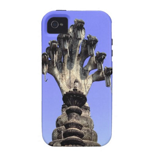 Seven Headed Naga, Thailand Vibe iPhone 4 Cover