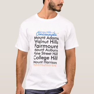 Seven Hills of Cincinnati T-Shirt