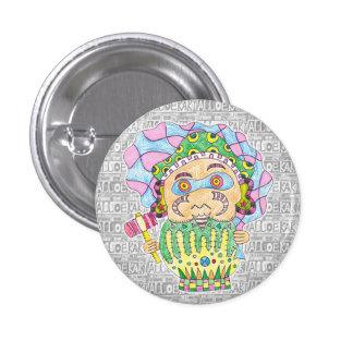 Seven luck God/Daikoku heaven can badge Button