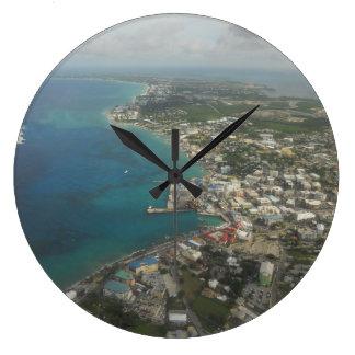 Seven Mile Beach Cayman Islands Wall Clocks