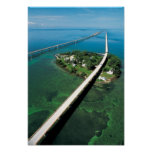 Seven Mile Bridge and Pigeon Key, Florida Keys Poster