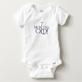 seven Months old cute baby one piece Baby Onesie