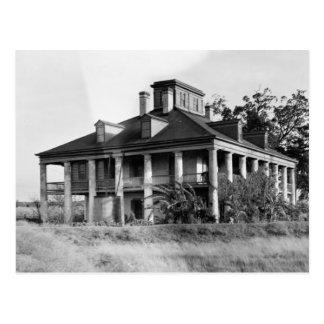 Seven Oaks Plantation, Westwego LA Postcard