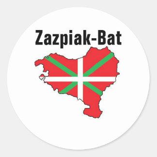 Seven Provinces One Basque Country Sticker