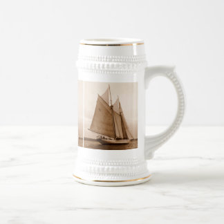 Seven Sails on the Salish Sea Beer Steins