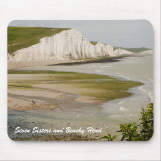 Seven Sisters and Beachy Head Mousepad