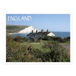 Seven Sisters ENGLAND Postcard