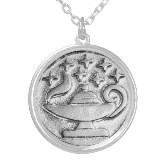 Seven Sisters Genie Wish Magick Talisman Silver Plated