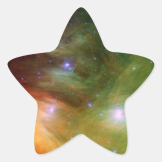 Seven Sisters Pleiades Stars Space Star Sticker