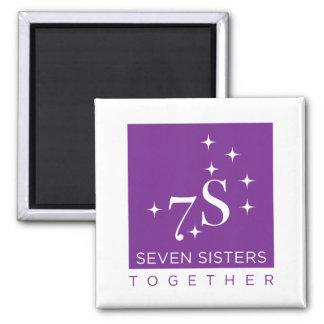 Seven Sisters Together Fridge Magnet