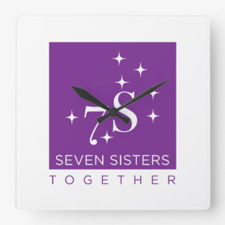 Seven Sisters Together Wall Clock