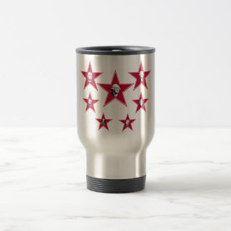 Seven Stars of American History Stainless Steel Travel Mug