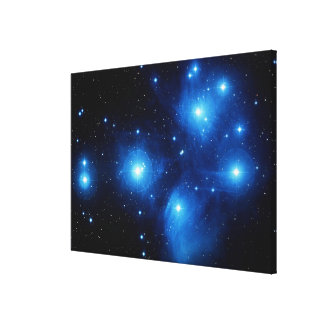 Seven Stretched Canvas Print