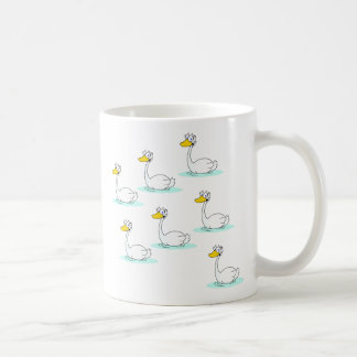 Seven Swans a-Swimming Coffee Mug