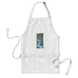 Seven Swans A-Swimming Standard Apron