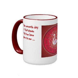 Seven swans ringer mug