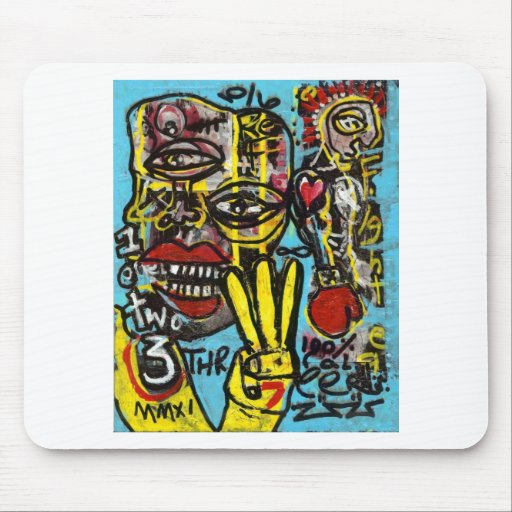 Seven To Get Up Mousepads