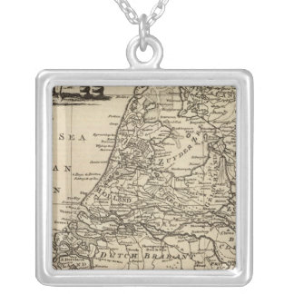 Seven United Provinces 4 Silver Plated Necklace