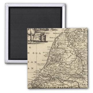 Seven United Provinces 4 Square Magnet