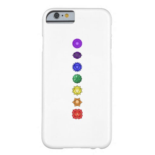 Seven vertical chakras iPhone 6 case