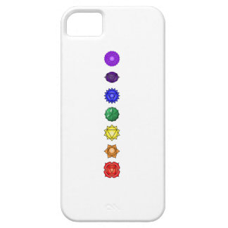 Seven vertical chakras iPhone 5 cover