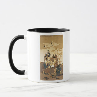 Seven wise men in the bamboo forest mug