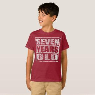 7th Birthday T Shirts Shirt Designs