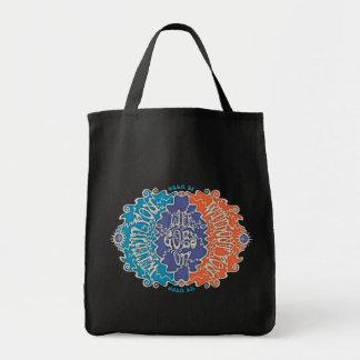 SeVENNties Diagram Grocery Tote Bag