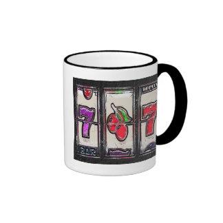 Sevens and Cherries Slot Reels Ringer Mug