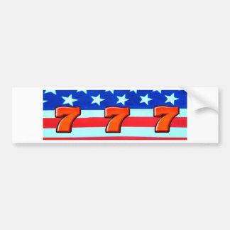 Sevens RWB Car Bumper Sticker