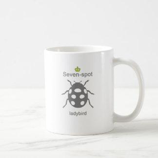 Sevenspot ladybird g5 mugs