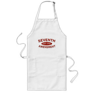 Seventh Amendment Est 1791 Long Apron