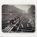 Seventh Avenue and 24-25th Streets Subway Mouse Pads